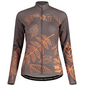 Maloja LaubmoosM. 1/1 Long Sleeve Bike Jersey Women, gris